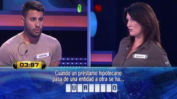 El emocionante duelo por 22.000 euros entre Nomaya y Adrián en '¡Ahora caigo!