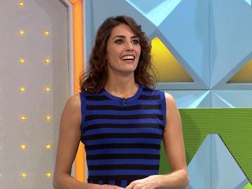 La divertida forma de Laura Moure de bailar un clásico villancico en 'La ruleta de la suerte'