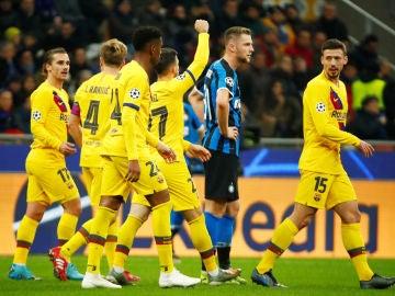 Carles Pérez celebra su gol