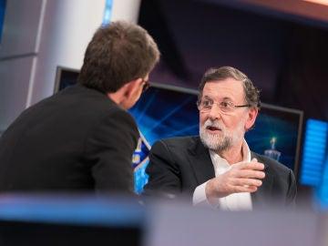 """Mariano Rajoy, en 'El Hormiguero 3.0': """"A mi Gobierno le pusieron una moción de censura y la excusa fue la corrupción"""""""