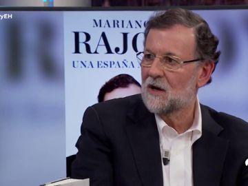"""Mariano Rajoy, sobre su libro 'Una España mejor': """"Lo que hago es explicar porqué yo tomé determinado tipo de decisiones y no otras"""""""