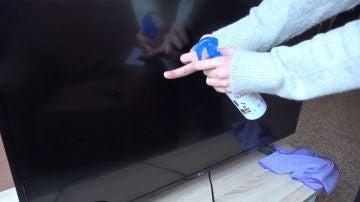 Limpiar televisor