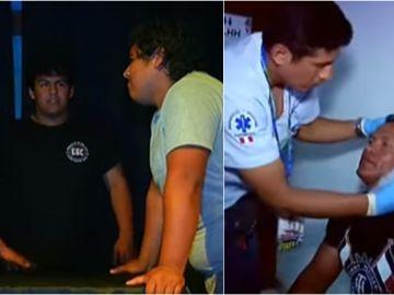 Imágenes del primer torneo nacional de bofetadas en Perú