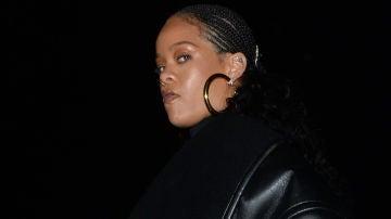 La cara de mala leche de Rihanna