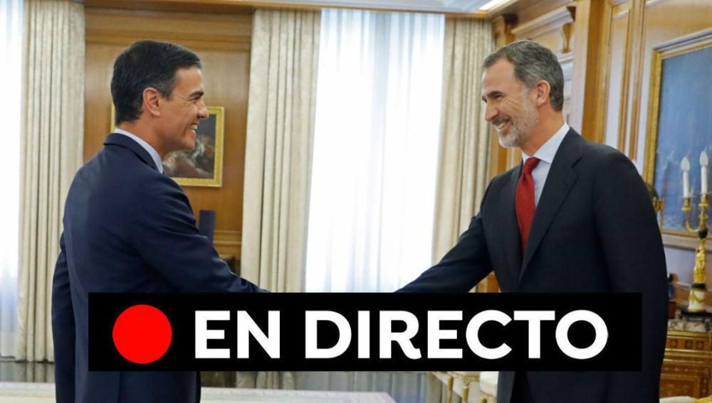 Ronda de consultas del Rey para la investidura de Pedro Sánchez: Última hora en directo