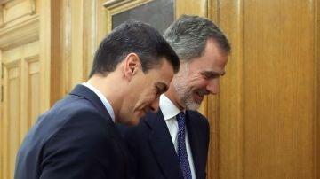 laSexta Noticias 20:00 (11-12-19) El rey cierra con Pedro Sánchez las consultas para proponer un candidato a la investidura