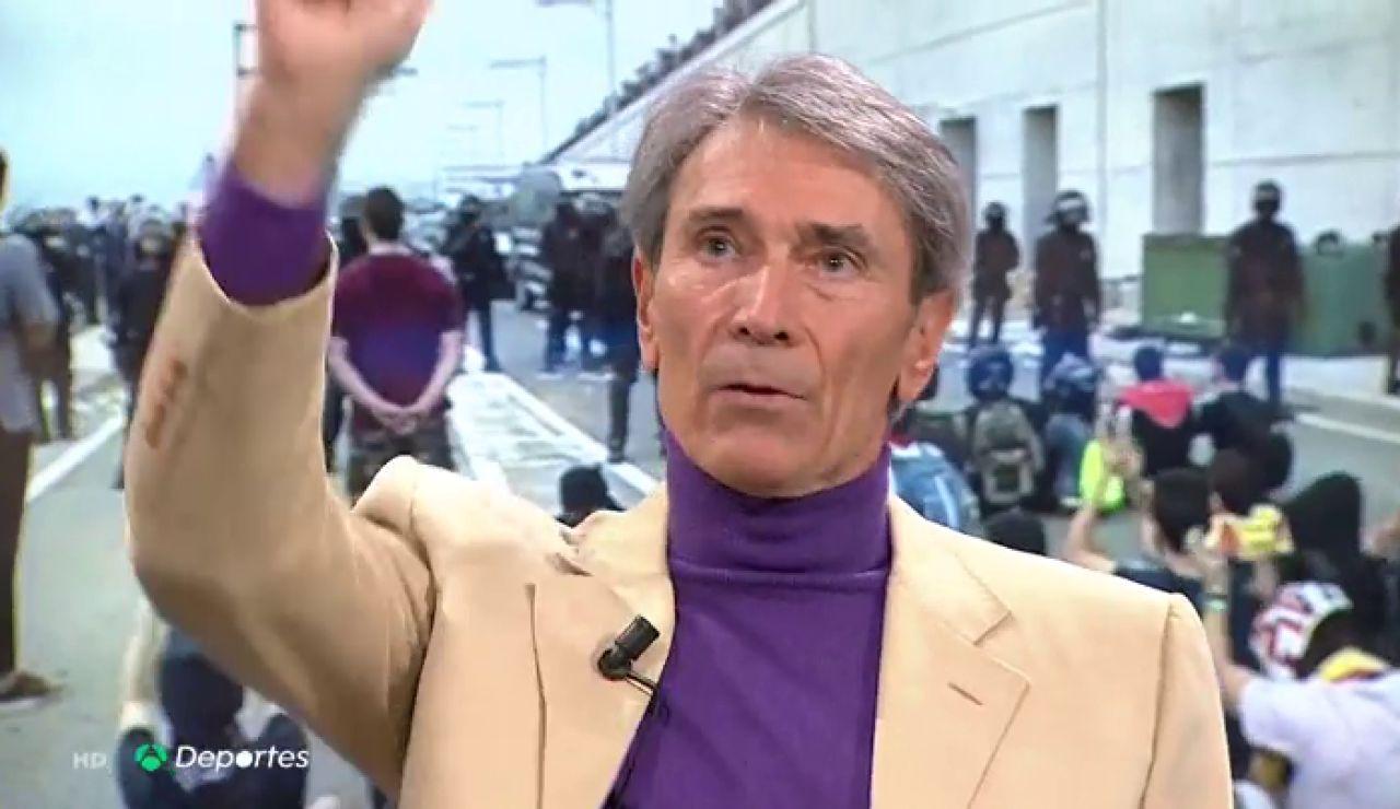 """El alegato de 'Lobo' Carrasco contra las manifestaciones convocadas para el Clásico: """"Estamos permitiendo que se manche el fútbol"""""""