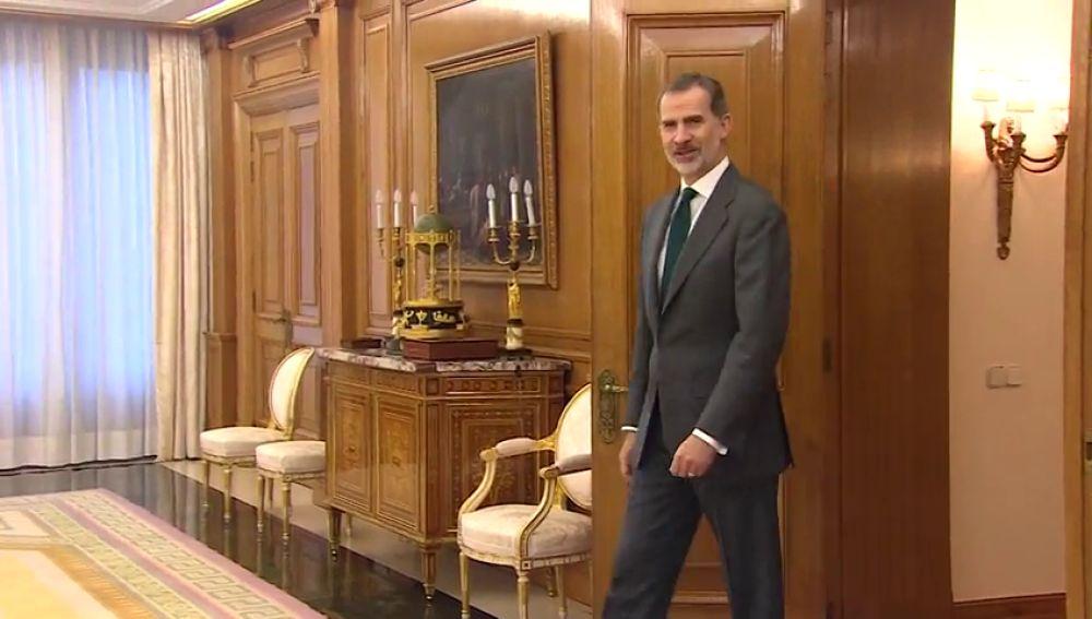 El rey decide si propone candidato tras las consultas de hoy