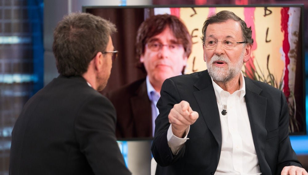 """Mariano Rajoy opina sobre la fuga de Puigdemont en 'El Hormiguero 3.0': """"Si crees en algo, defiéndelo y actúa en consecuencia, pero no tuvo coraje"""""""