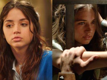Ana de Armas en 'El Internado' y en 'Hispania: La leyenda'