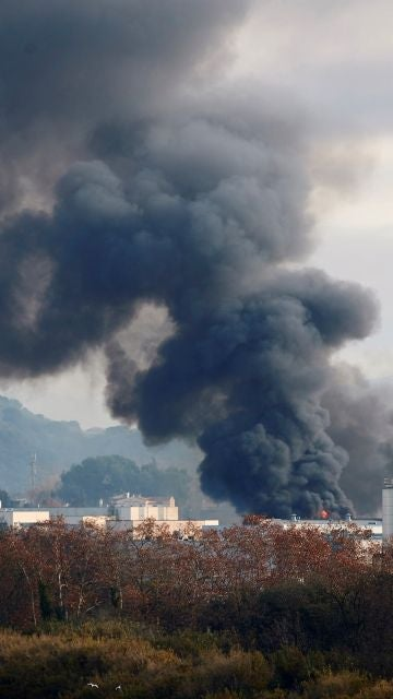 Incendio en Cataluña