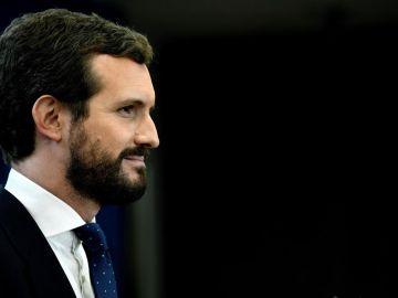 Imagen de archivo del líder del PP, Pablo Casado
