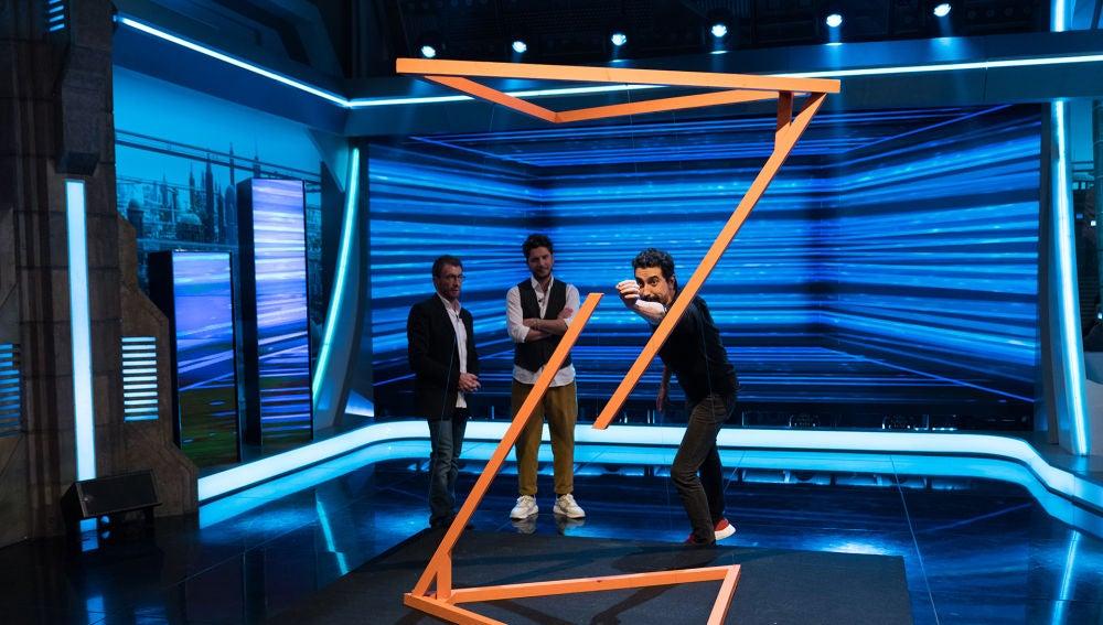 Marron impresiona en 'El Hormiguero 3.0' con la escultura imposible