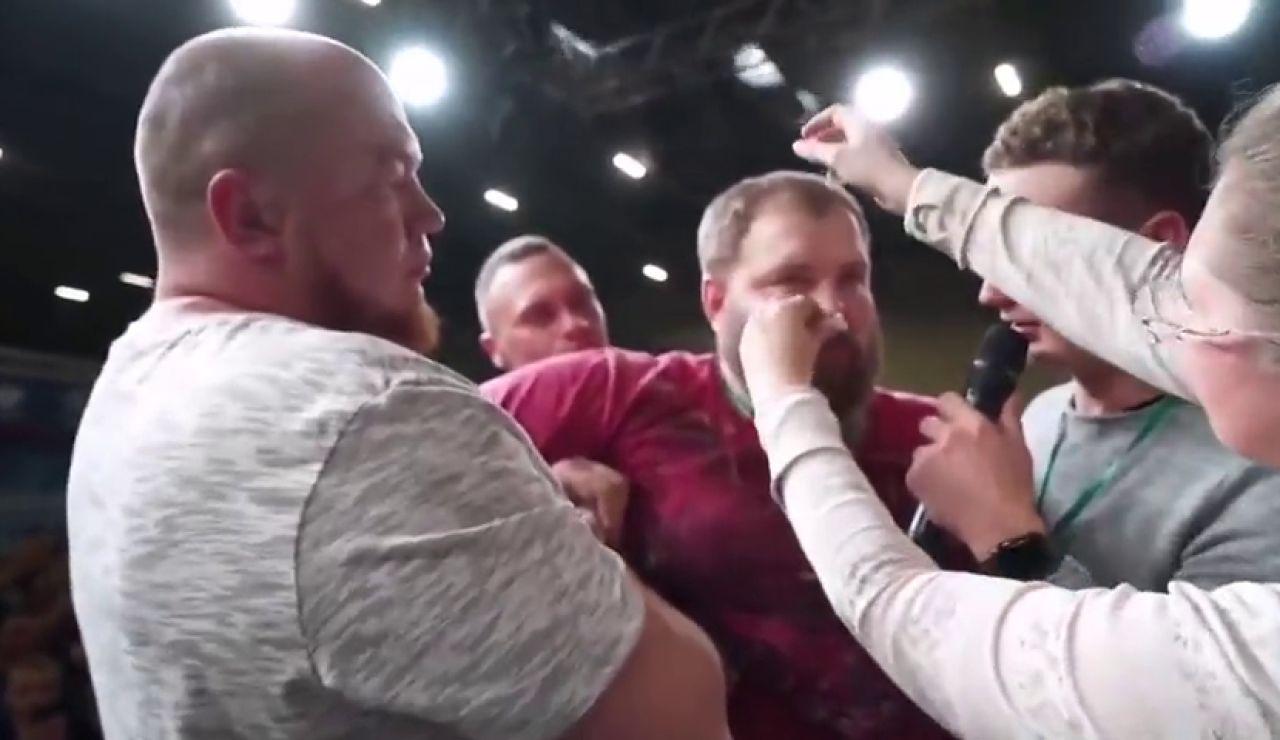 Vasily Kamotsky, el indiscutible rey de las bofetadas, cae por primera vez ante un oponente