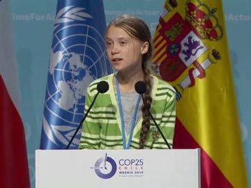 """Greta Thunberg: """"Los países ricos deben hacer su parte y ser los primeros en lograr emisiones cero"""""""