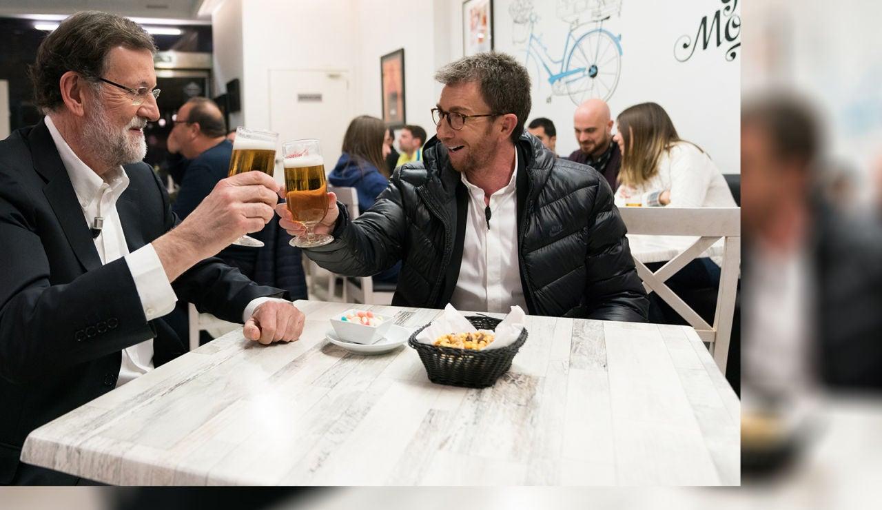 Rajoy repasa en 'El Hormiguero' su etapa política y su nueva vida