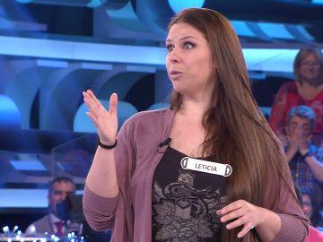 Leticia confiesa en '¡Ahora caigo!' una anécdota con Arturo Valls