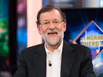 """Mariano Rajoy subraya en 'El Hormiguero 3.0' el """"honor"""" y la responsabilidad de ser presidente: """"Mira para arriba y ahí sólo está el cielo"""""""