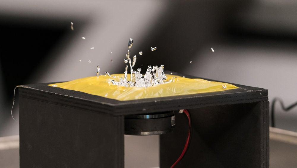 Marron hace arte en 'El Hormiguero 3.0' con el galio y las onda metálicas