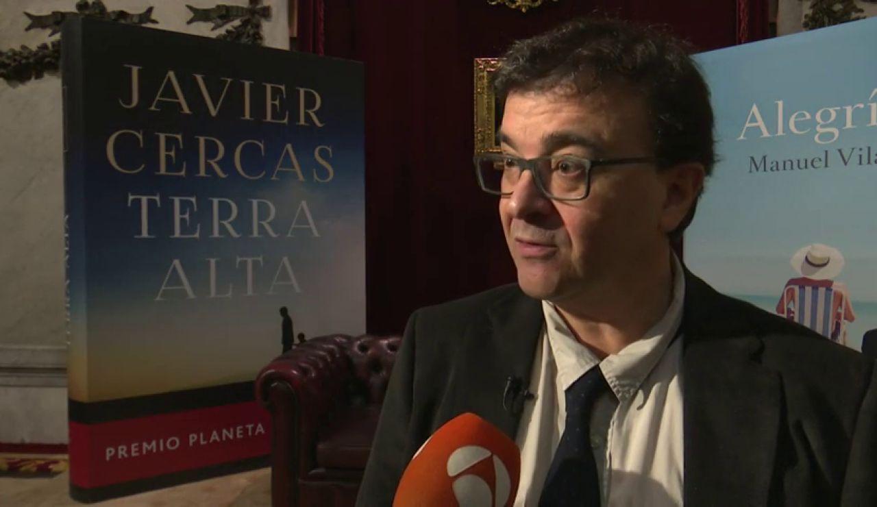 Javier Cercas y Manuel Vilas participan en las 'Tardes Literarias' de Premio Planeta