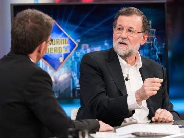 """Mariano Rajoy valora en 'El Hormiguero 3.0' que Sánchez negocie con los independentistas: """"Es malo para España"""""""