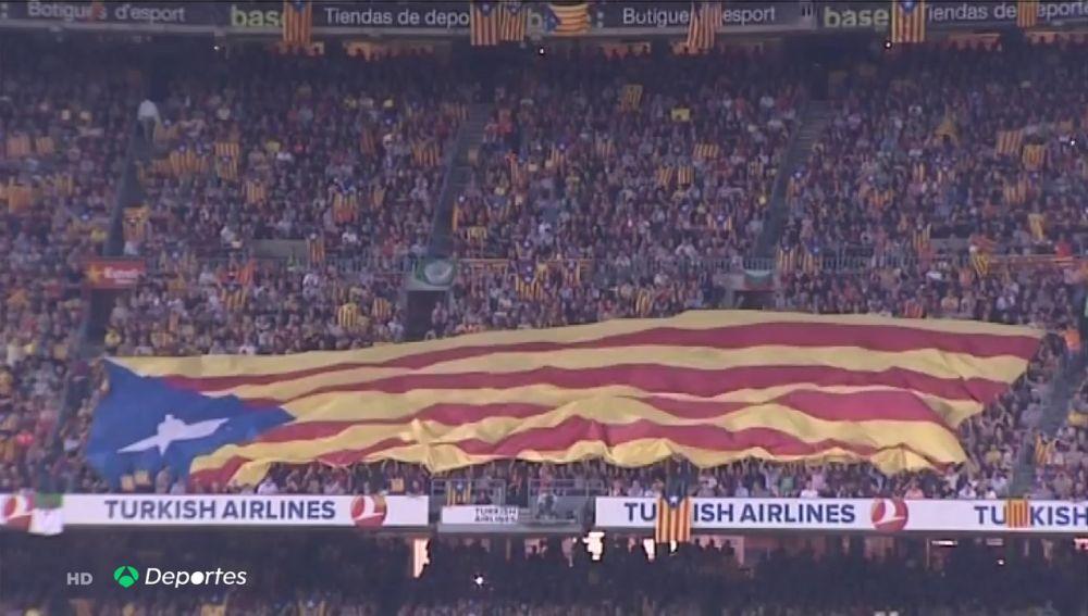 """Deportes Antena 3 (11-12-19) La RFEF asegura que aplicará la normativa vigente si se producen """"situaciones de fuerza mayor"""" en el Clásico entre Barcelona y Real Madrid"""