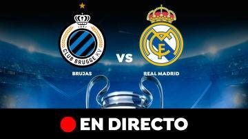 Brujas - Real Madrid en directo: Resultado y goles del partido de hoy de Champions League en vivo