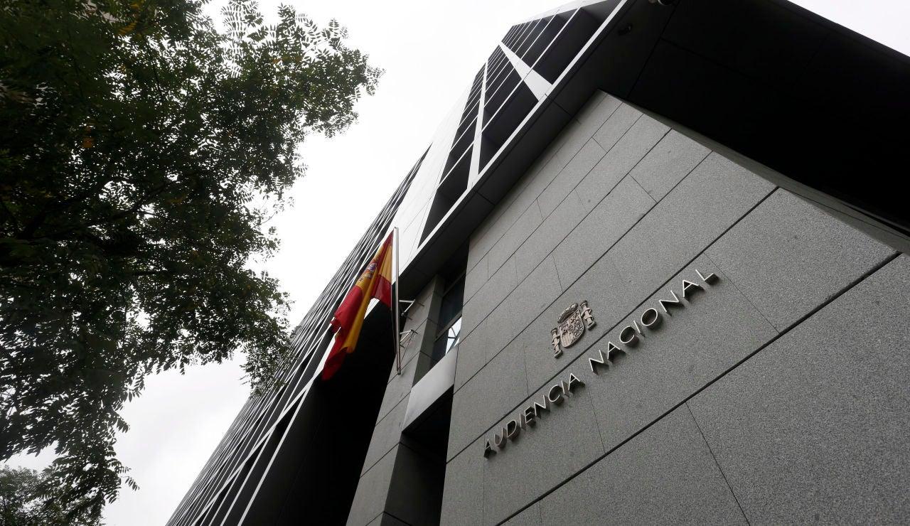 Exterior de la Audiencia Nacional de Madrid