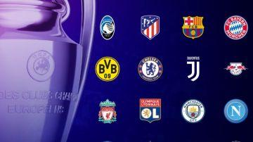 Sorteo de octavos de la Champions League