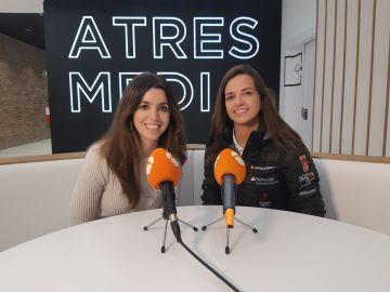 Cristina Gutiérrez en el encuentro 'Las mujeres juegan'