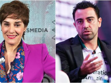 Anabel Alonso y Xavi Hernández
