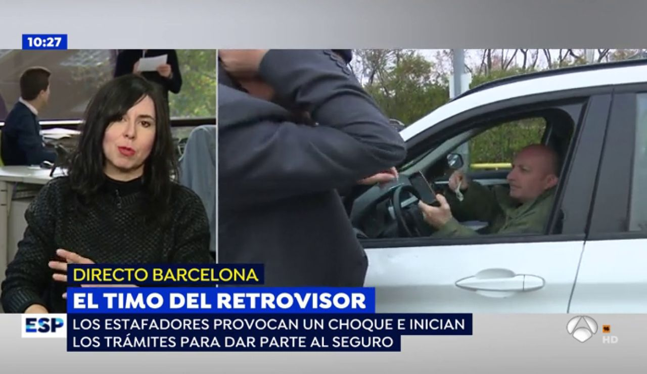 ESTAFA RETROVISORES