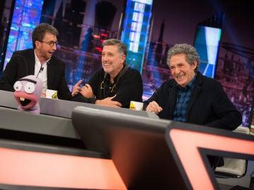 """Trancas y Barrancas destapan el """"rumor más loco"""" sobre Miguel Ríos y Emilio Aragón"""