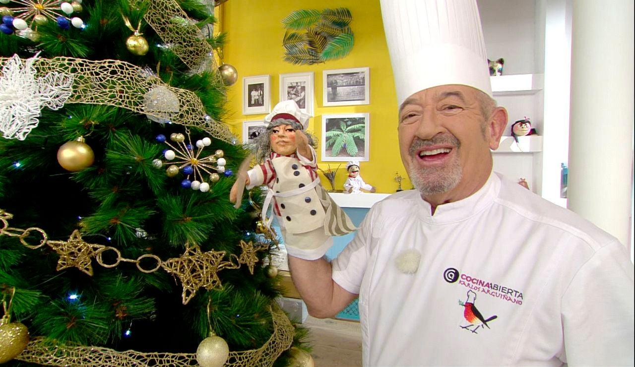 Menú de Nochebuena de Karlos Arguiñano