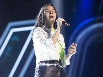 Alba Aguilar canta 'I will always love you' en la Semifinal de 'La Voz Kids'