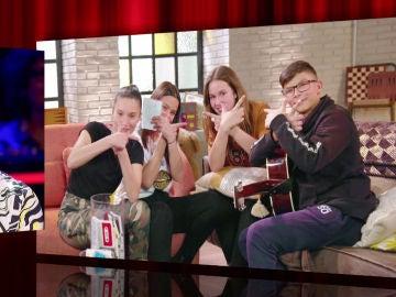 David Bisbal descubre la versión de 'Bulería' cantada por sus niños de 'La Voz Kids'