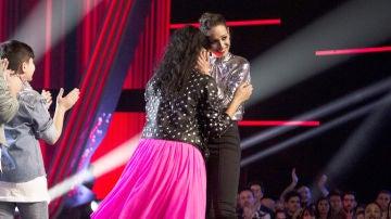 Aysha Bengoetxea, finalista del equipo de Vanesa Martín en 'La Voz Kids'