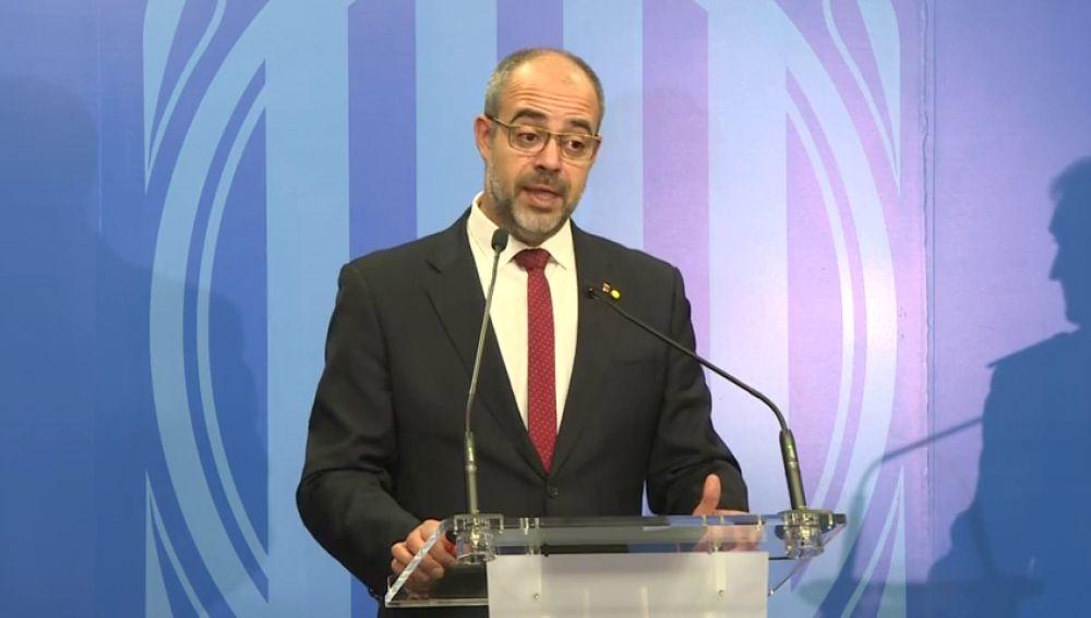 """Miquel Buch: """"Los Mossos garantizan la seguridad del Clásico. Fue un error aplazarlo"""""""