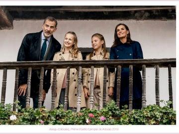 Felicitación de Navidad de la Casa Real