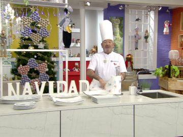 El menú perfecto para los niños en Navidad de Cocina abierta de Karlos Arguiñano