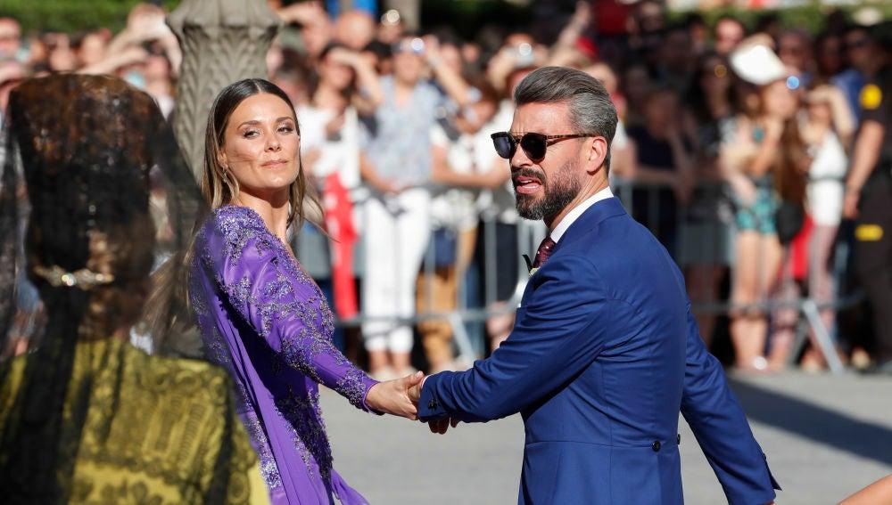 Lórena Gómez y René Ramos