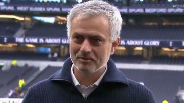 Mourinho, en el momento de anunciar la muerte de su perra