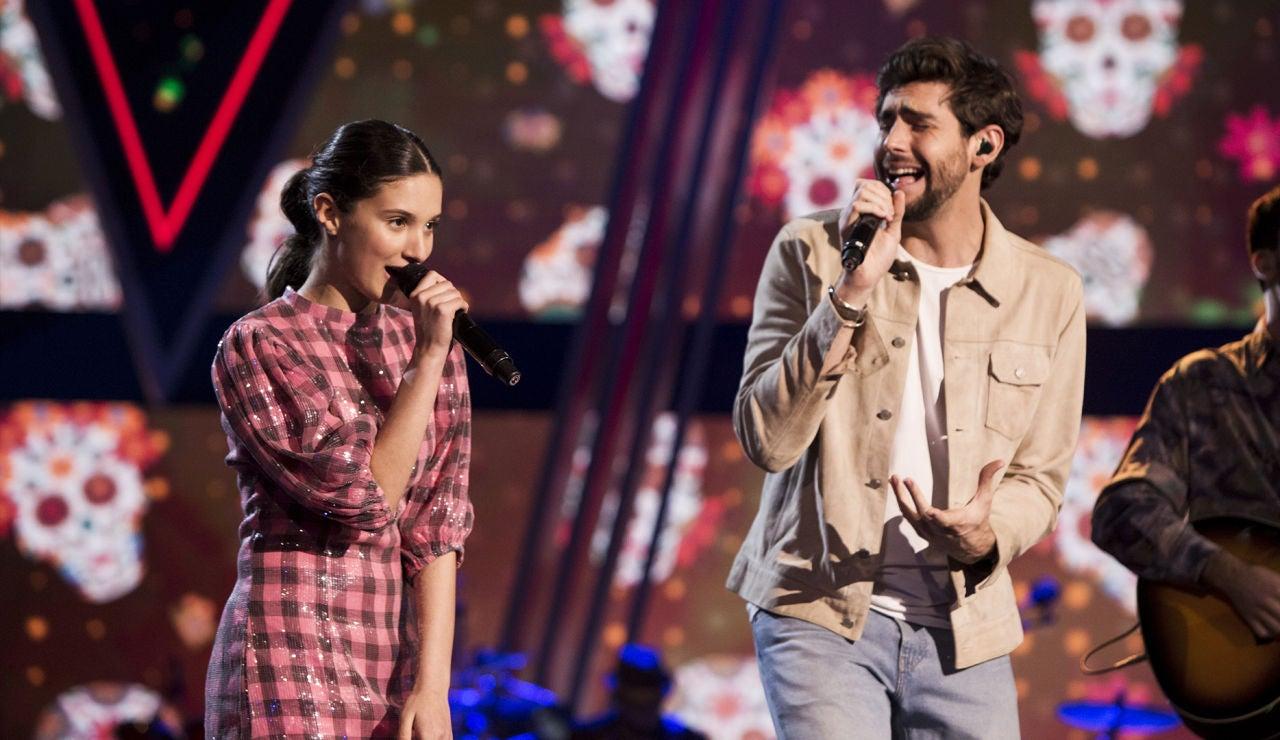Álvaro Soler nos saca a bailar en la Gran Final de 'La Voz Kids' con su tema 'Loca' acompañado de Irene Gil