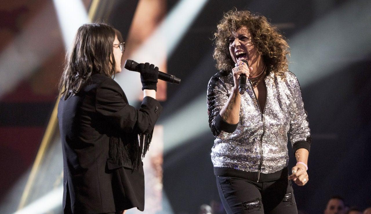 Rosana, invitada de la Gran Final de 'La Voz Kids', realizarán una actuación muy especial con Sofía Esteban