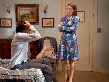 Jacobo amenaza a Lourdes ante su demanda de divorcio