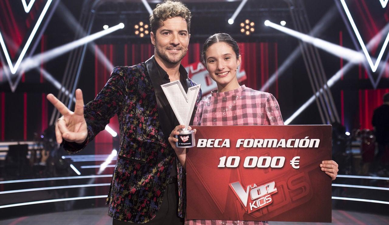 Irene Gil, ganadora de 'La Voz Kids' tras una emocionante votación frente a Daniel García