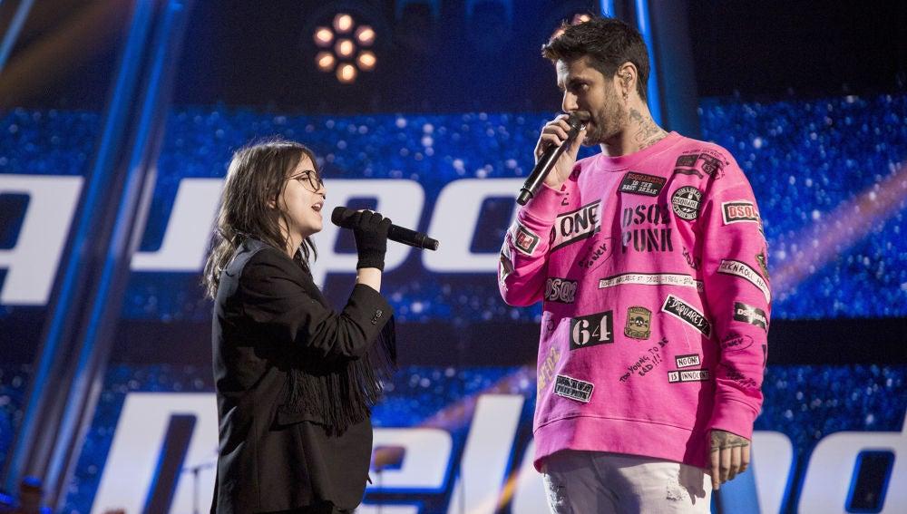 Melendi y Sofía Esteban realizan una versión única de 'Fuiste tú' en la Gran Final de 'La Voz Kids'