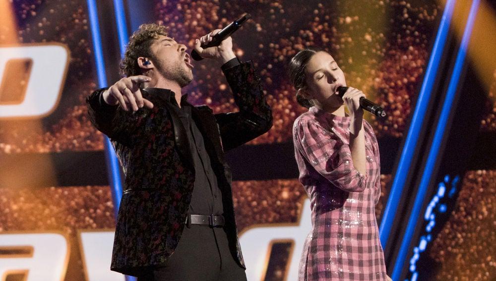 La fantástica actuación de David Bisbal e Irene Gil con 'El ruido' en la Gran Final de 'La Voz Kids'