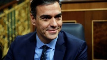 El presidente del Gobierno en funciones Pedro Sánchez