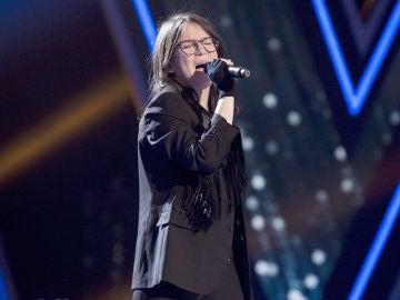 Sofía Esteban canta 'Summertime' en la Gran Final de 'La Voz Kids'